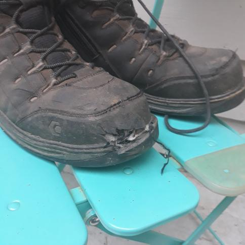 Cire ollies ravaged boots